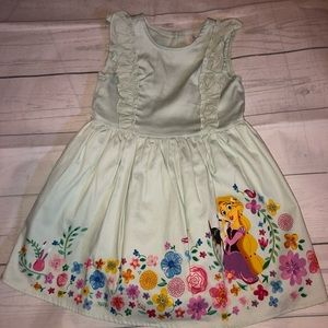 Disney Store Rapunzel Dress Size 4